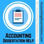Accounting Dissertation Help
