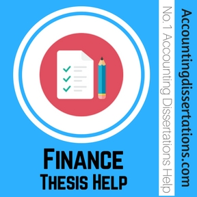 Thesis accounting and finance