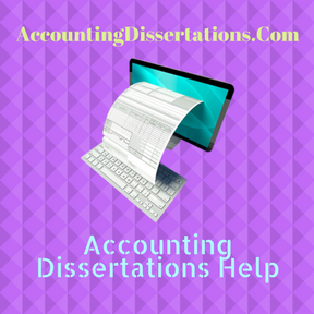 Accounting Dissertations Help