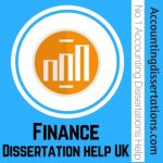 Finance Dissertation help UK