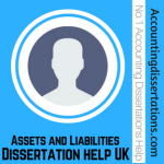Assets and Liabilities Dissertation Help