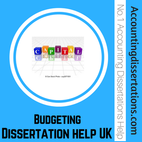 Budgeting Dissertation help UK