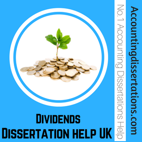 Dividends Dissertation help UK