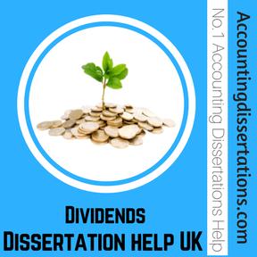 Dividends Dissertation help UK