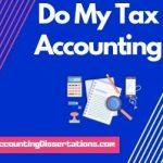 Do my Tax accounting