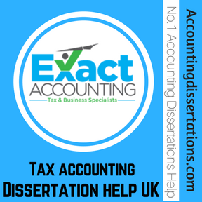 Do my Tax accounting Dissertation help UK
