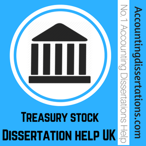Treasury stock Dissertation help UK
